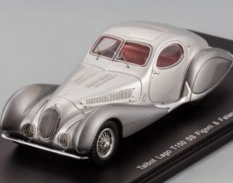 TALBOT Lago T150 SS Figoni Falaschi (1937), silver