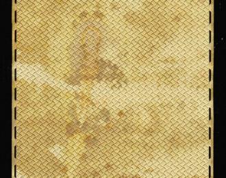 (Уценка!) Фототравление Профнастил алюминиевый, альпак 0,16мм