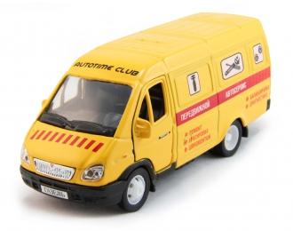 Горький 2705 Передвижной автосервис, желтый