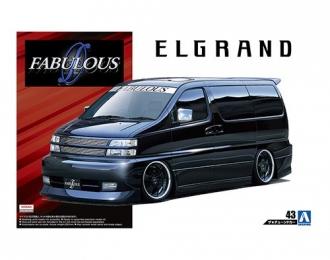 Сборная модель Микроавтобус Nissan Elgrand '00 Fabulous