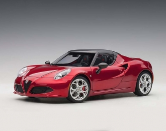 Alfa Romeo C4 Spider (red)
