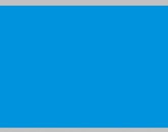 Декаль Цветовое поле (голубой), 195x85