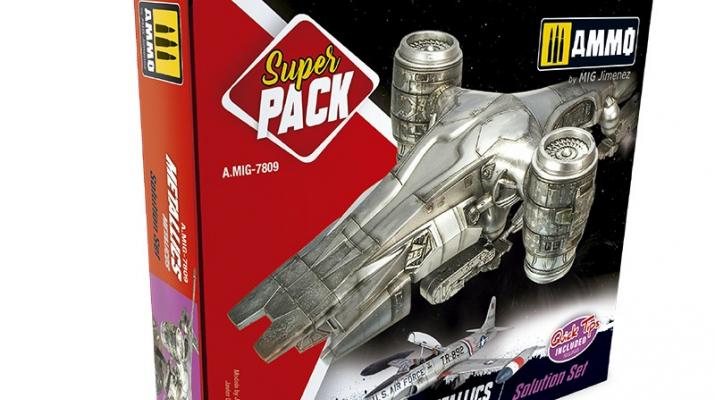 """Подарочный набор акриловых красок """"Metallics. Super Pack"""""""