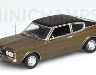 FORD Taunus Coupe (1970), gold metallic