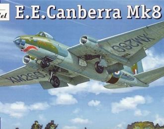 Сборная модель Британский средний бомбардировщик English Electric Canberra Mk8