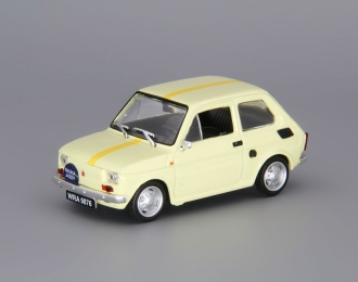 FIAT 126p Nauka Jazdy, light yellow