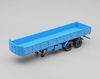 МАЗ 5205А полуприцеп, синий
