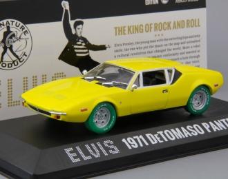 DE TOMASO Pantera Elvis Presley 1971 Yellow (Greenlight!)