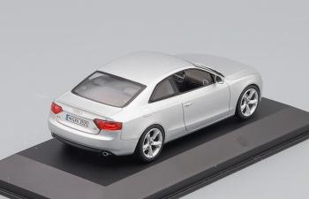 AUDI A5 Coupe (2007), серебристый