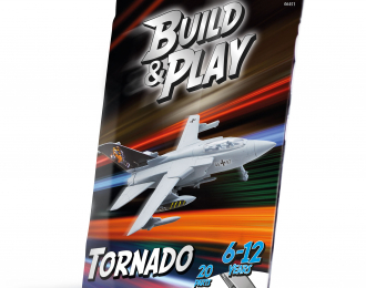 Сборная модель Боевой реактивный самолёт Tornado IDS