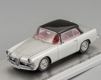 Alfa Romeo 1900 CSS Coupé Lugano Ghia Aigle 1957 (silver)