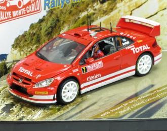 (Уценка!) PEUGEOT 307 WRC M.GRONHOLM-T.RAUTIAINEN RALLY MONTE-CARLO 2005