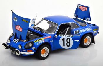 Renault-Alpine A110 1800S #18 Winner Monte Carlo Rally 1973 Andruet - Petit