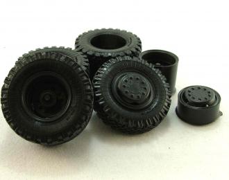 Резина, диски для МАЗ 200 штампованные