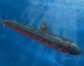 Сборная модель Подводная лодка USS Los Angeles Class SSN-688/VLS/688I