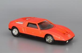 MERCEDES-BENZ C111, bright red