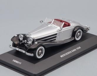 (Уценка!) MERCEDES-BENZ 540K (1936), silver / black
