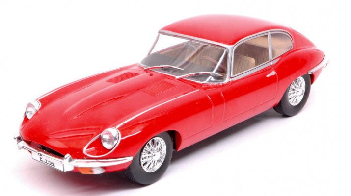 JAGUAR E-Type Coupe 1962 Red