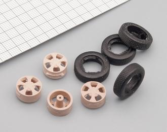 Набор колес для ВАЗ-2121 Elbrus Edition (литой диск, резина)