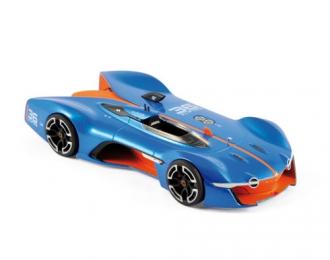 ALPINE Vision Gran Turismo 2015 Blue/Orange
