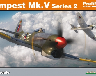 Сборная модель Британский истребитель Hawker Tempest Mk.V series 2 (Profipack)
