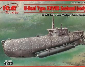 """Сборная модель Германская подводная лодка """"Zeehund"""", тип XXIIB"""
