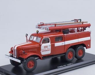 ПМЗ-27 (на шасси ЗИL 157К) ДПД колхоза им. Дзержинского, красный