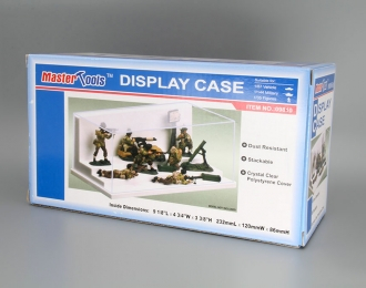 Прозрачный бокс, подиум лесенкой 232x120x86mm