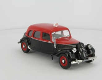 CITROEN Traction 11 familiale Taxi (1955), red / black