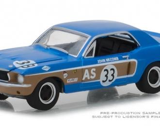 FORD Mustang #33 John McCoMERCEDES-BENZ Trans-Am Continental Divide1968