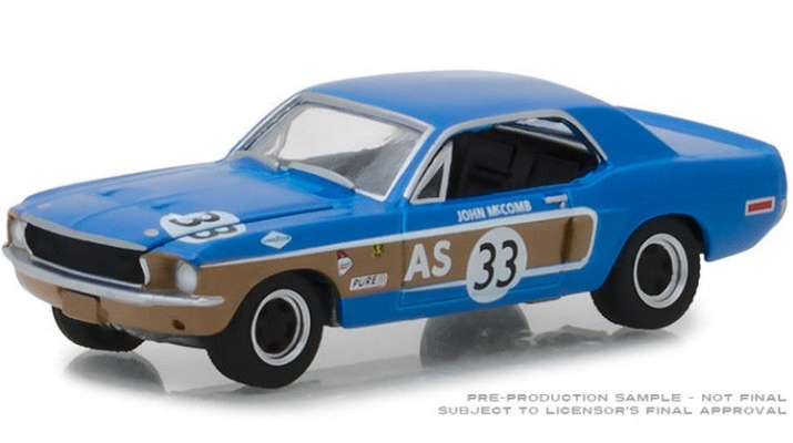 FORD Mustang #33 John McCoMERCEDES-BENZ Trans-Am Continental Divide 1968