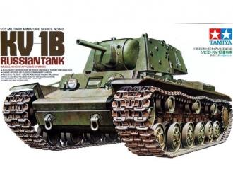 Сборная модель Советский тяжелый танк КВ-1Б с фигурой танкиста