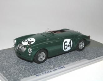 MG EX182 Lund - Waeffler #64 Le Mans (1955), green