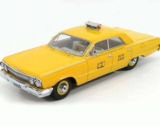 CHEVROLET Biscayne NYC Taxi (1963), yellow