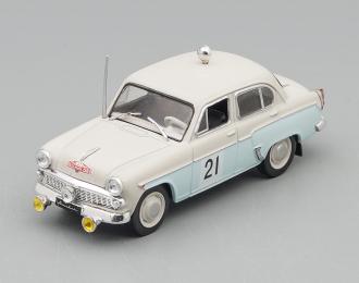 МОСКВИЧ-403 #21 Ралли Монтекарло, Автоспорт СССР 9