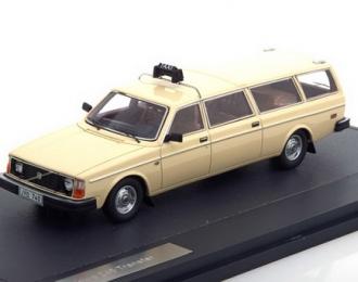 VOLVO 245 Transfer Taxi LWB (1978), beige