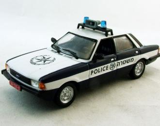 FORD Cortina Полиция Израиля, Полицейские Машины Мира 31, белый