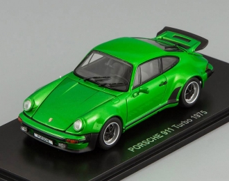 PORSCHE 911 Turbo (1975), green