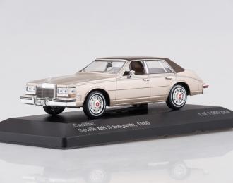 CADILLAC Seville MK II Elegante (1980), gold metallic / brown