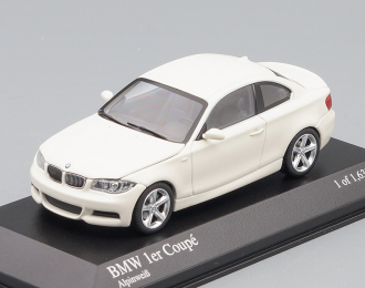 BMW 1 Series Cabriolet (2007), white