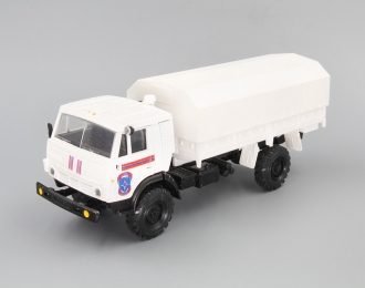 КАМАЗ 4326 МЧС, белый