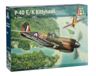 Сборная модель Самолёт P-40 E/K KITTYHAWK