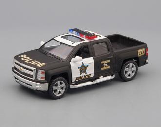 CHEVROLET Silverado Police (2014), black / white