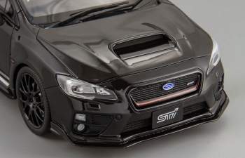 SUBARU WRX STI S207, black