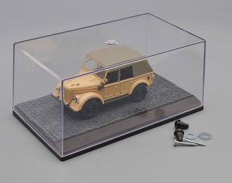 "Пластиковый Бокс-диорама для моделей ""Брусчатка"" (155х90х70мм)"