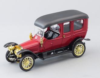 Руссо-балт Лимузин (1912), вишневый / черный