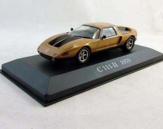 MERCEDES-BENZ C-111-II (1970), Mercedes-Benz Offizielle Modell-Sammlung 22, brown
