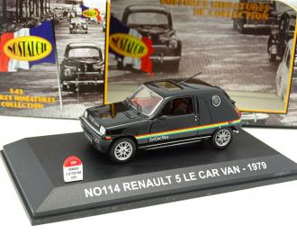 RENAULT 5 Le Car Van (1979), black