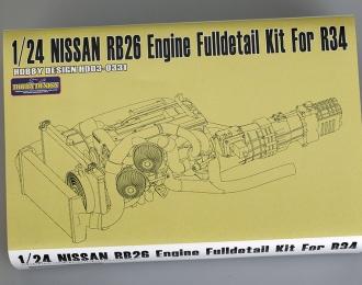 Набор для доработки Nissan RB26 Engine Full detail Kit для моделей R34