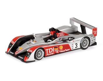 Audi R10 TDI No.3, Le Mans Luhr/Premat/Rockenfeller 2007
